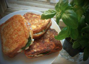 Mozzarelové toasty (skoro) podle Dity P.