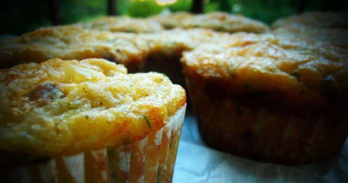 Bramborové muffiny podle Dity