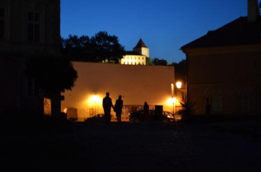 Noční milenci v Praze