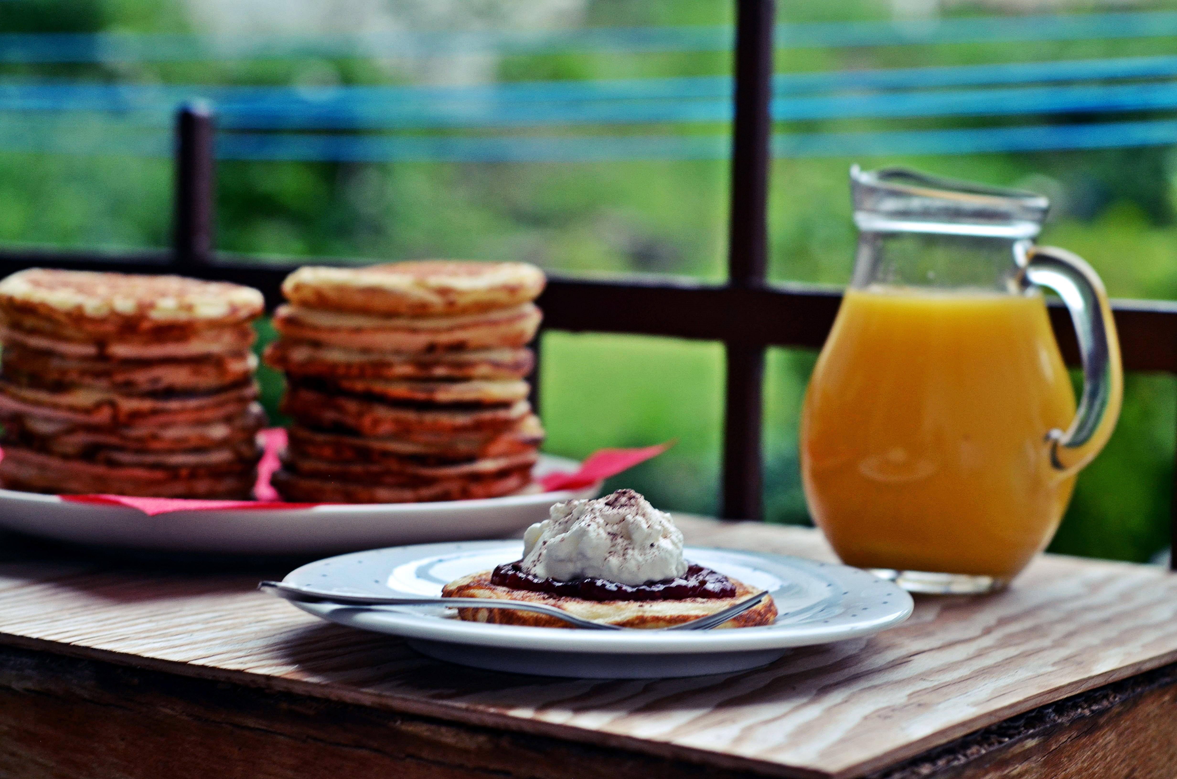 Kynuté lívance k snídani